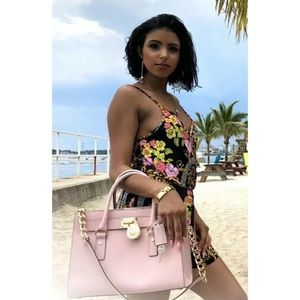$298 Michael Kors Hamilton Handbag MK Bag Purse